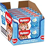 Huggies Everyday Clean Baby Wipes - 12 Soft Packs (224 Wipes Total)