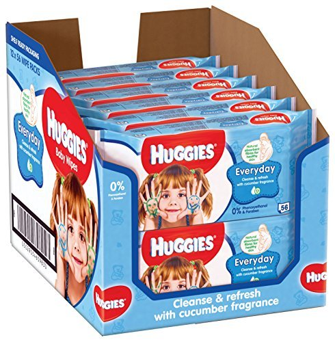 Huggies Everyday Baby Wipes 61QMsthw mL