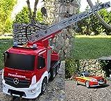 RC Feuerwehr Mercedes 2 er Set + Antos 2,4 GHz 1:20 & Sprirtzfunktion 404960/7