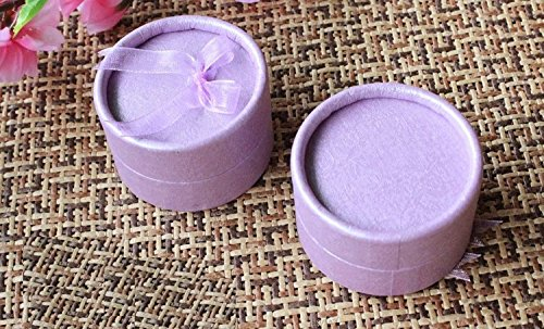 xjoel-schmuck-ring-ohrring-halskette-bowknot-quadrat-geschenk-karton-papier-display-box-lila