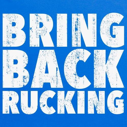 Bring Back Rucking Rugby T-Shirt, Damen Royalblau