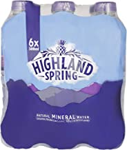 Highland Spring Natural Mineral Water Tray, 500 ml