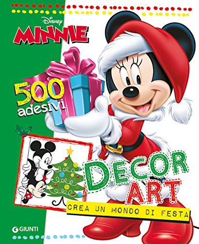 Decor Art. Crea un mondo di festa. Minnie. 500 adesivi