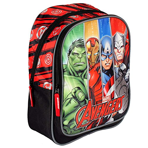 Marvel Avengers 30cm Gesichter Junior Rucksack
