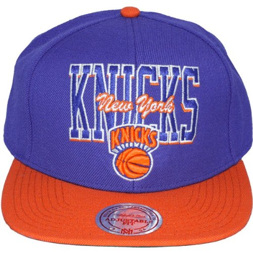 Mitchell & Ness - Casquette Snapback Homme New York Knicks Reverse Stack