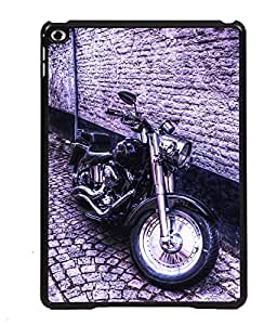 Printvisa 2D Printed Bike Designer back case cover for Apple iPad 6- D4501