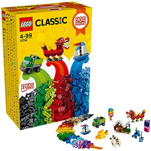 Preisvergleich Produktbild LEGO 10704 Classic Kreativ-Steinebox 900 Steine