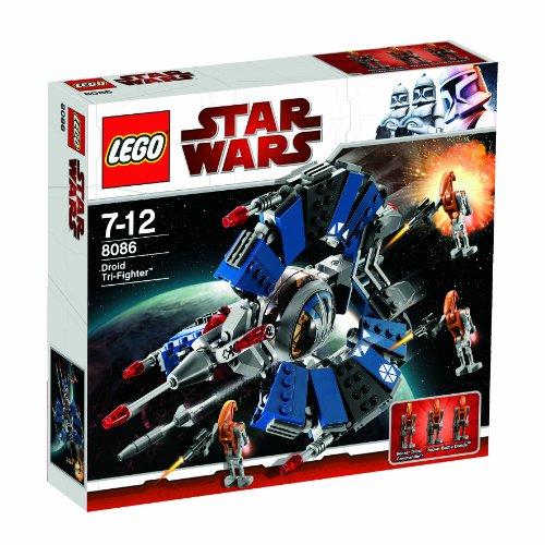 LEGO Star Wars 8086 - Droid Tri-Fighter - 2010 Legos Wars Star