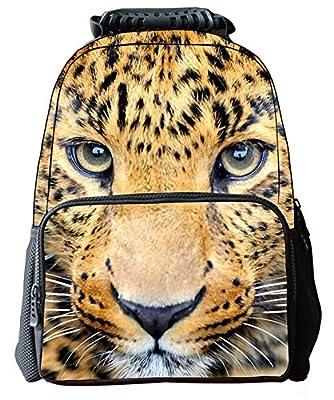 Canvas Boys Girls 3D Animals Print Daypack Backpack School Bag(305)