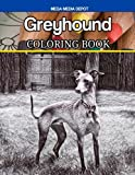 Greyhound Coloring Book