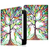 Fintie Etui Amazon Kindle 8ème Génération - Housse Folio Ultra Fin avec Auto Réveil / Veille pour Amazon Toute nouvelle Liseuse Kindle 6 pouces (8ème génération - modèle 2016), Love Tree