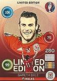 Gareth Bale Wales Hero Limited Edition Panini Adrenalyn XL EURO 2016 Sammelkarte Tradingcard Karte Card Checkliste