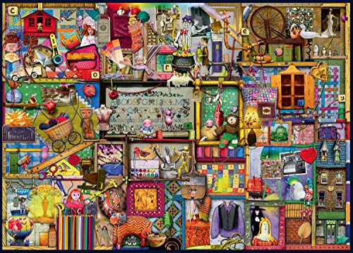 Ravensburger 194124 Colin Thompson Puzzle The Craft Cupboard, 1000 Pezzi