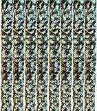 Arsvita Flausch-Vorhang, viele Variationen, Größe: 90x200 cm, Farbe: beige-weiß