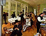 Das Museum Outlet – The Baumwolle Exchange by Degas – Poster Print Online kaufen (152,4 x 203,2 cm)