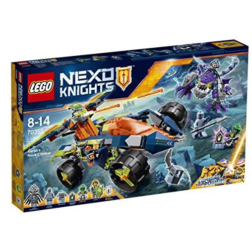 Nexo Knights - Escalarrocas de Aaron (LEGO 70355)