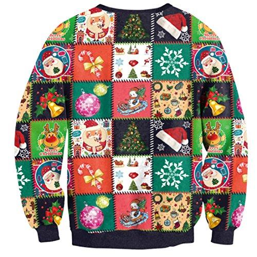 Belsen Damen Sweatshirt schwarz baum X-Large Xmas Gift