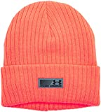 Under Armour Herren UA Truck Stop Beanie Schweissband, Blaze Orange, OSFA