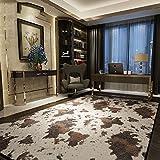 YYHAD Halle Fußmatten Badteppiche Kreative Persönlichkeit Wohnzimmerteppich Trend der Modernen Muster von Kühen Wohnzimmer Schlafzimmer Teppich Badezimmer Teppich WC Matten (größe : 0.8 * 2.0m)