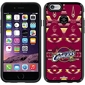 Coveroo CandyShell Black Cell Phone Case for iPhone 6 - Retail Packaging - Cleveland Cavaliers Tribal Print