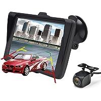 GPS Navi Navigation für Auto 7 Zoll Touchscreen Auto Navigationsgerät mit Lebenslang Karten-Updates (Europa) für 58 Länder und Taxi KFZ Navi
