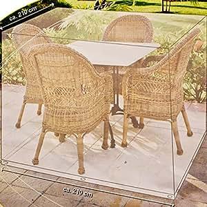 Housse de protection pvc pour meuble salon de jardin for Salon de jardin amazon