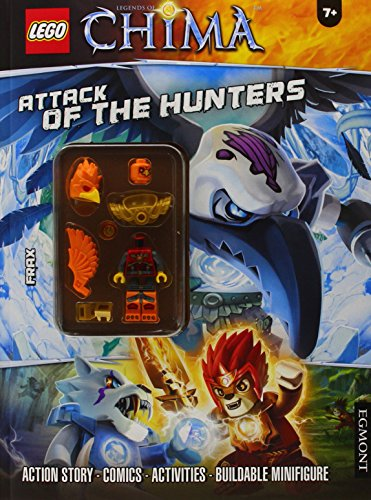 Lego® Chima: Attack of the Hunters (Activity Book with Minifigure 2) (Lego Legends of Chima)