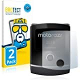 brotect Pellicola Copertura Completa Compatibile con Motorola RAZR 2019 (Display Anteriore) (2 Pezzi) Full-Cover 3D Curvo