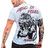 PG Wear T-Shirt Baise LA Police Weiß S-3XL (M)
