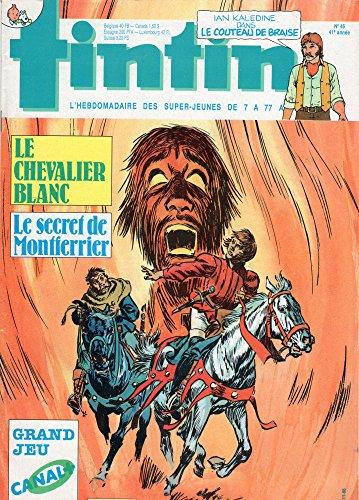 Tintin n° 582 - 04/11/1986 - Le Chevali...