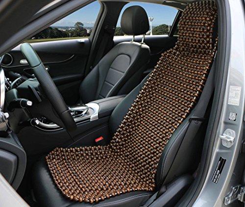 Preisvergleich Produktbild Natur Holz Perle Sitz Bezug Massage Cool Kissen für Auto Truck