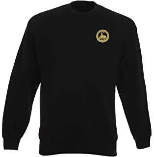 Official British Army Full Zip Heavyweight Fleece Jacket Military Online The South Wales Borderers Embroidered Logo WW2