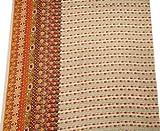 Weißen Stoff Indischen Baumwoll-Voile Crafting Kleid