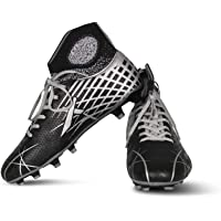 Vector X Stealth Synthetic Football Shoes (Black-Grey)