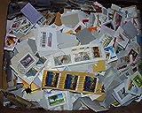 Robbert´s Briefmarken Kiloware, 5 kg Sparkiste, Missionsware, wie gespendet auf Papier, gestempelt
