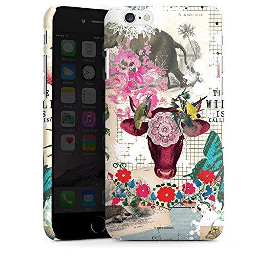 Apple iPhone X Silikon Hülle Case Schutzhülle Muster Collage Vintage Premium Case matt