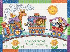 Dimensions Counted Cross Stitch Kit, Baby Express Birth Record