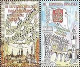 Prophila Collection Croacia 447-448 (Completa.edición.) 1998 Festivales y Vacaciones (Sellos para los coleccionistas)