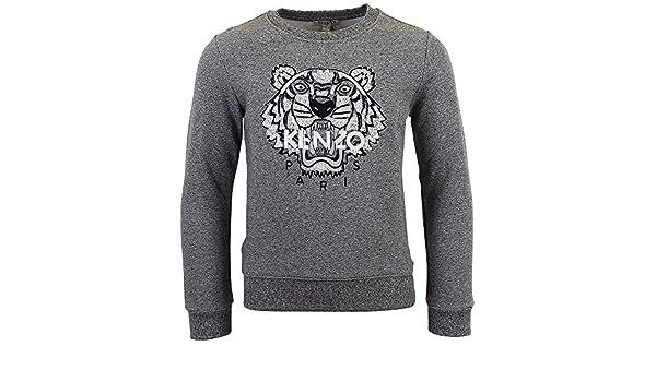 Sweat Kenzo Kids Tigre Anthracite - Enfant  Amazon.fr  Vêtements et  accessoires 6dfa9a49a87