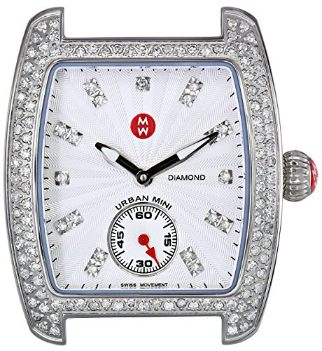 Michele Women's MWW02A000508 Urban Mini Diamond Bezel Watch