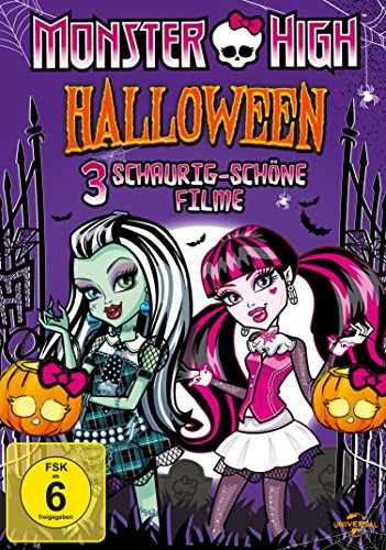 een Box [3 DVDs] (Filme Monster High De Halloween)