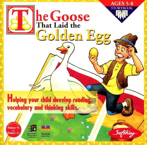 The Goose That Laid The Golden Egg - Games Egg Golden