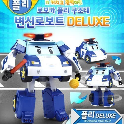 Robocar Poli Deluxe Transformer Toy - Poli by Robocar Poli | Nouveau Produit