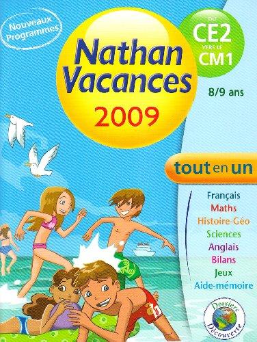 Nathan vacances du CE2 vers le CM1 Tout en un