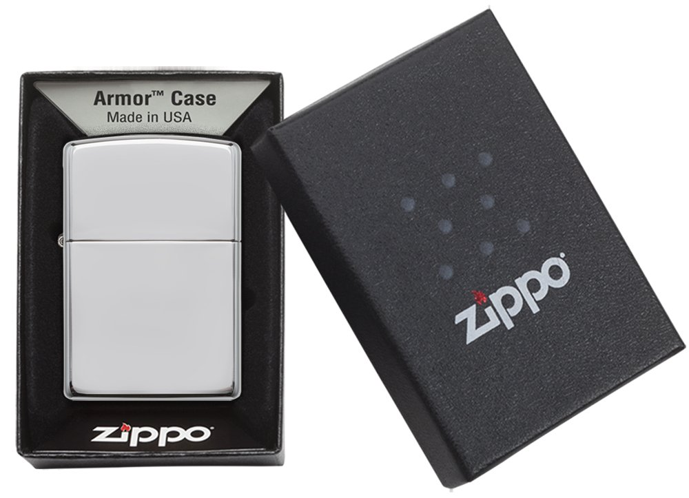 Zippo Chrome Lighters 7