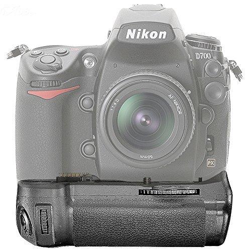 Neewer Batteriegriff Akkugriff Battery Grip BP-D10 für Nikon D300S D700 D300 SLR-Digitalkamera wie der Nikon MB-D10, kompatibel mit 8x AA-Batterien oder 2x EN-EL3e-Akkus