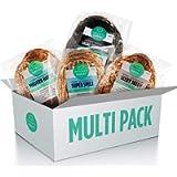 Modern Baker - Four-Your-Freezer, Organic Sourdough Bread Four Pack (4 Loaves)