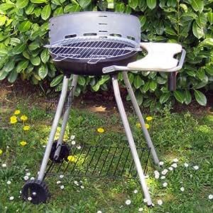 Barbecue PORT CANTO rond sur chariot de Somagic