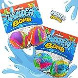 Wasserbomben Wasserball 2er Set Spielball Ball ca.6,5cm Splash Strandball Beachball