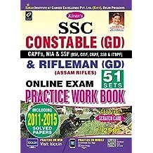 SSC Constable (GD) & Rifleman (GD) Online Exam Practice Work Book English - 2287